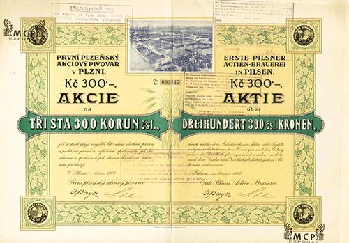 Autor: Muzeum cenných papírů, nadační fond