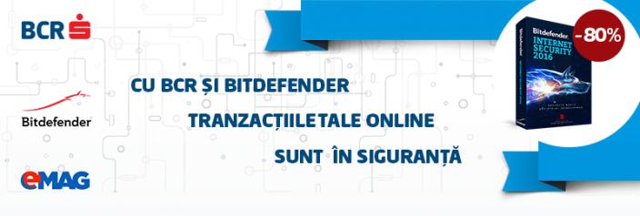 Campanie BCR Bitdefender